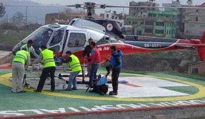 Air-Evacuation-Service | Vayodha Hospital