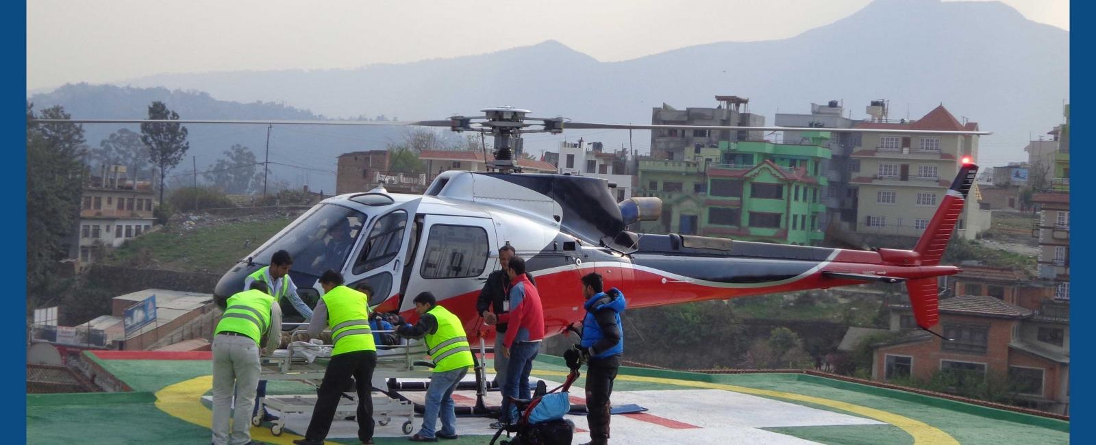 Air Evacuation Service | Vayodha Hospital